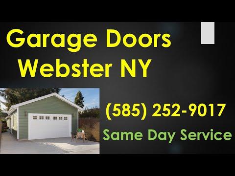 Garage Door Repair Webster NY (585) 252-9017 Garage Door Spring Repair & Opener Webster New York