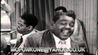 FATS DOMINO. AIN'T THAT A SHAME. FILMED PERFORMANCE 1956