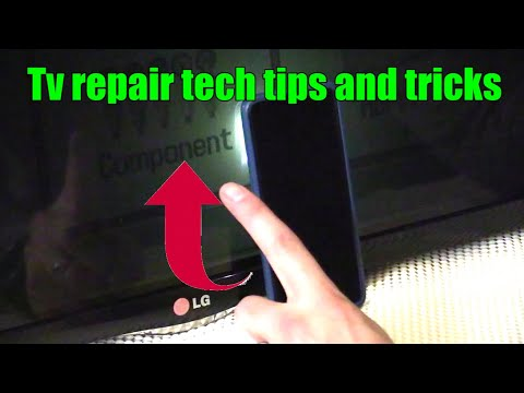 3 Ways how to check LED LCD TV with a Black Screen part 1