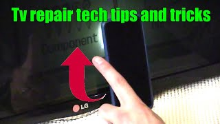 3 Ways how to check LED LCD TV with a Black Screen pt1