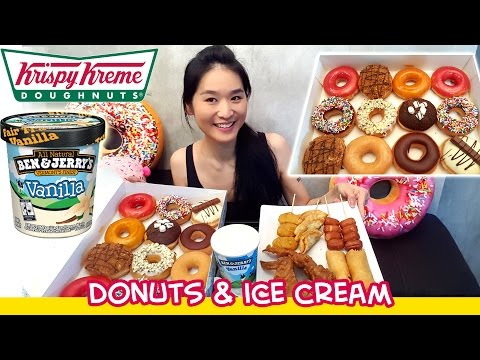 Donuts & Ice Cream (Eating Show - Mukbang) S03E01