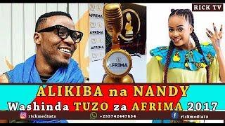 Video ALIKIBA na NANDY wameshinda TUZO za AFRIMA 2017 download MP3, 3GP, MP4, WEBM, AVI, FLV Juli 2018