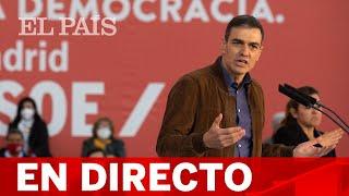 Directo #4M | El presidente del Gobierno, PEDRO SÁNCHEZ, vota en las elecciones de MADRID