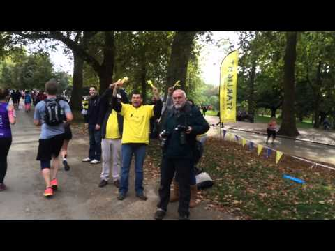 Royal Parks Half Marathon London 2014.