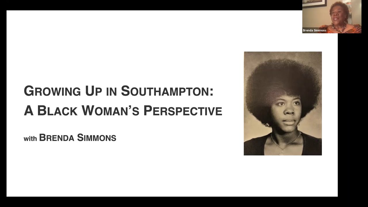 Brenda Simmons, Executive Director of the Southampton African American Museum