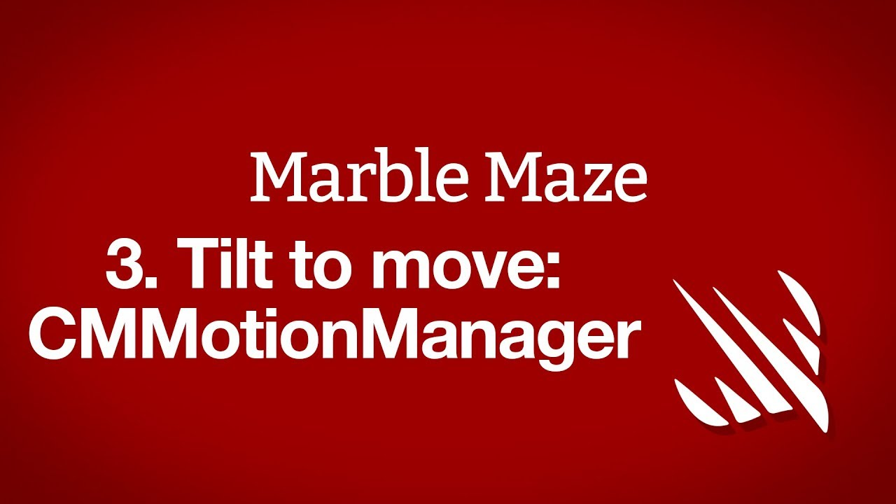 Tilt to move: CMMotionManager - a free Hacking with Swift