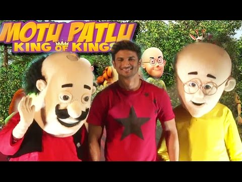 Motu Patlu King of Kings in 3D | Trailer Launch | Sushant Singh Rajput | 2016 | 2 thumbnail
