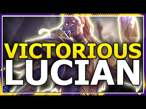 VICTORIOUS LUCIAN Splash ART And REVEAL! League Of Legends Victorious Skin Season 10 REVEALED!