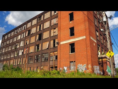 Creepy Abandoned Factory (Foundry) Cleveland, Ohio