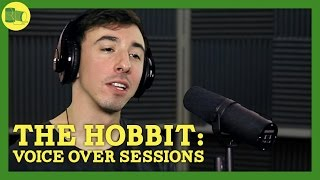 The Hobbit: The Desolation of Smaug BEHIND THE SCENES Voice Over Sessions
