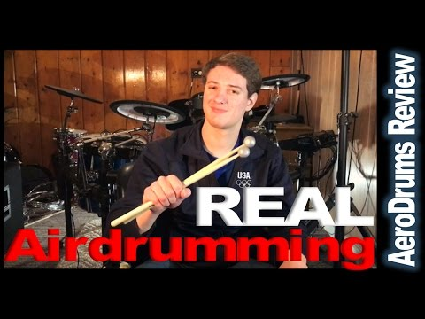 Aerodrums Review (Turning Air Drumming Into Actual Sound)