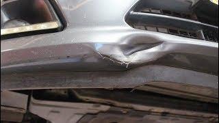 Мелкий ремонт бампера на скорую руку на Chevrolet Cruze 1,8 Шевроле Круз 2015 года