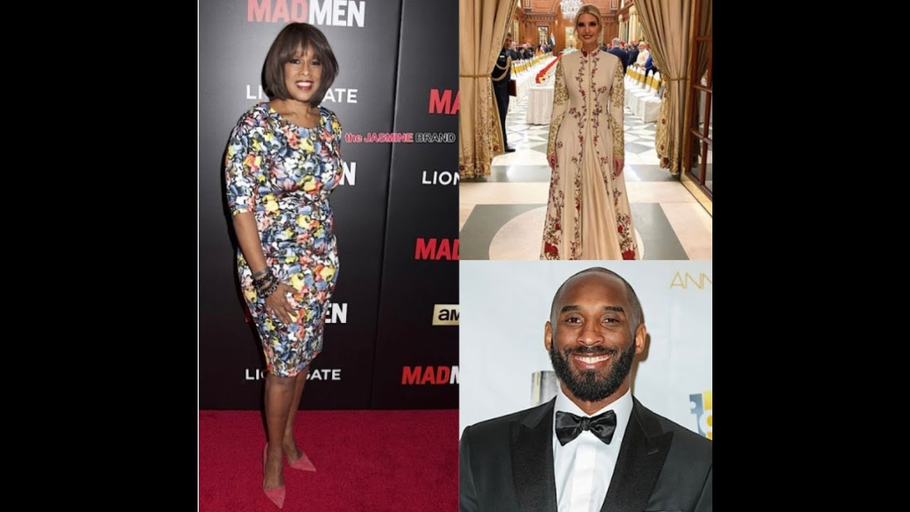 Gayle King is HAPPY that Ivanka TRUMP checked on her during KOBE controversy - Vicki Dillard