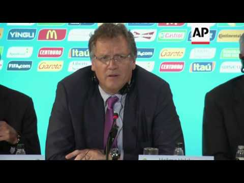 FIFA Secretary-General Jerome Valcke expressed concerns about the progress of construction work on s