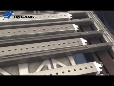 Operation video of ZDJ-1000 Automatic Flatbed Grooving Machine