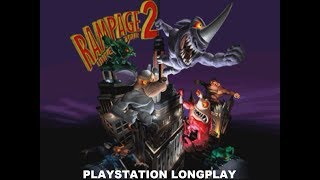 Rampage 2: Universal Tour | Playstation Longplay