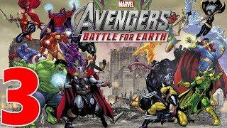 Marvel Avengers Battle For Earth Gameplay Walkthrough Part 3