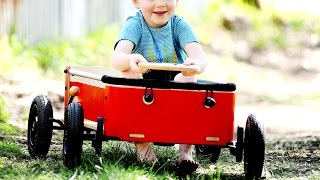 Next time, let your toddler drive.