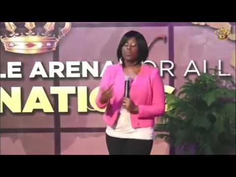 MIracle Arena Canada First Lady Rev Joanne God Will Use you.