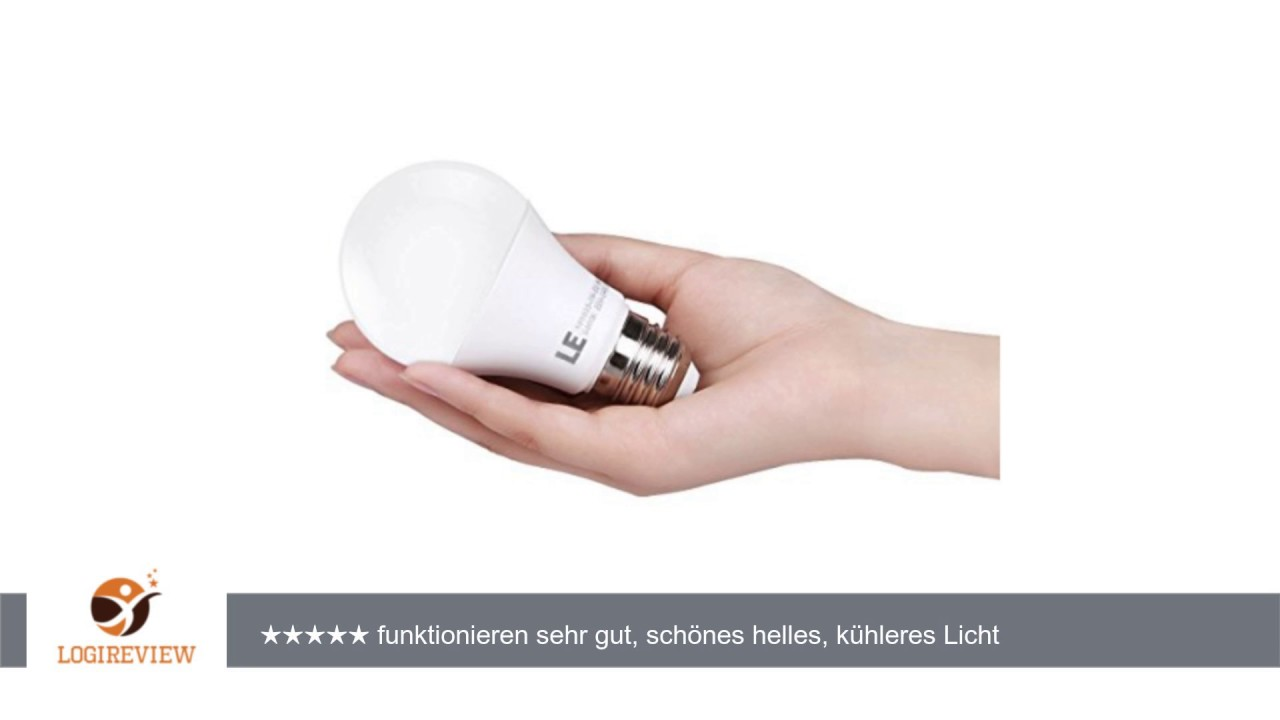 Le 5er e27 led lampen ersetzt 40w glhbirne 7w a60 520lm le 5er e27 led lampen ersetzt 40w glhbirne 7w a60 520lm kaltwei 6000 kelvin mittelschraube parisarafo Image collections