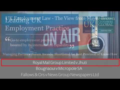 Episode 99: UK Employment Law - The View from Mayer Brown