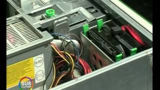 Installing SATA Hard Drives