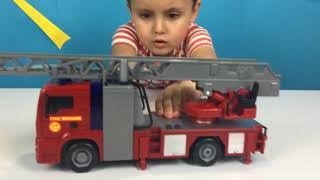 Видео с машинками для детей.Видео про пожарных. 🚗🚗Свинка Пеппа в лесу