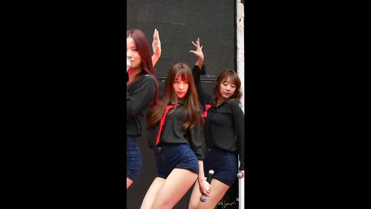 141130 EXID Hani 하니 - 위아래 Up&Down 명동 게릴라콘서트 직캠 fancam