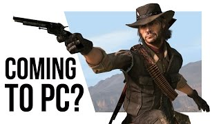 Red Dead Redemption FINALLY coming to PS4 and PC (sort of)!?!?