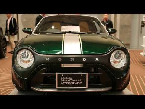 Honda S660 Neo Classic Prototype - Tokyo Auto Salon 2017
