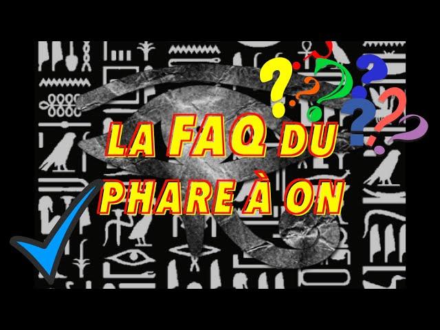 LA FAQ DES 2 ANS ! 🎂