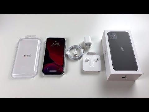 iphone-11-unboxing:-black!