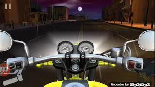Perdendo no jogo da moto