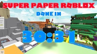 Super Paper Roblox - Any% 30:31