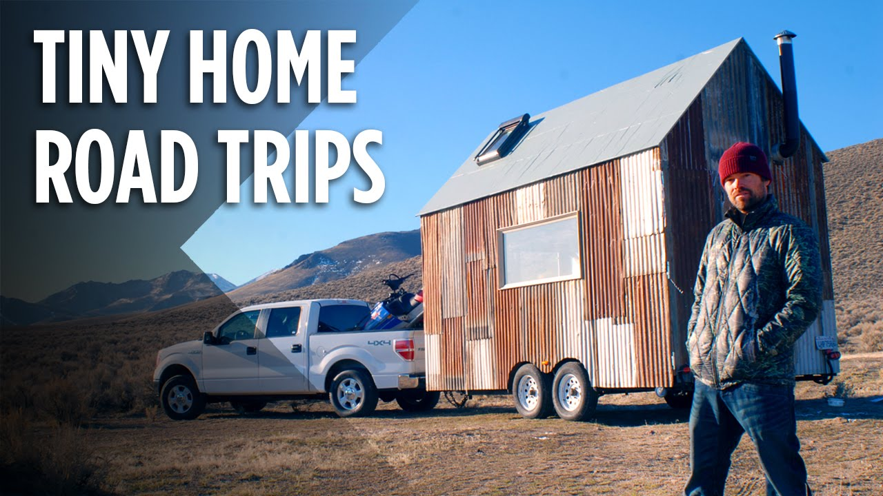 Taking A Tiny Home On The Road With Snowboarder Mike Basich