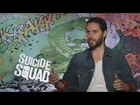 "Jared Leto speaks as The Joker: ""The Bat is a sweet guy. I like the Bat, I think he is a lot of fun"""