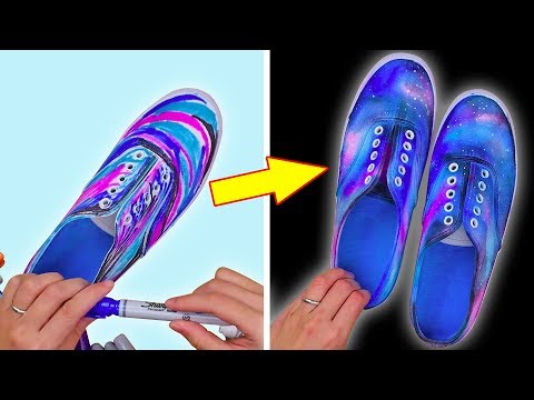 DIY BACK TO SCHOOL SUPPLIES AND MORE! DIY Shoe Craft Ideas and Fun Crafts by Blossom