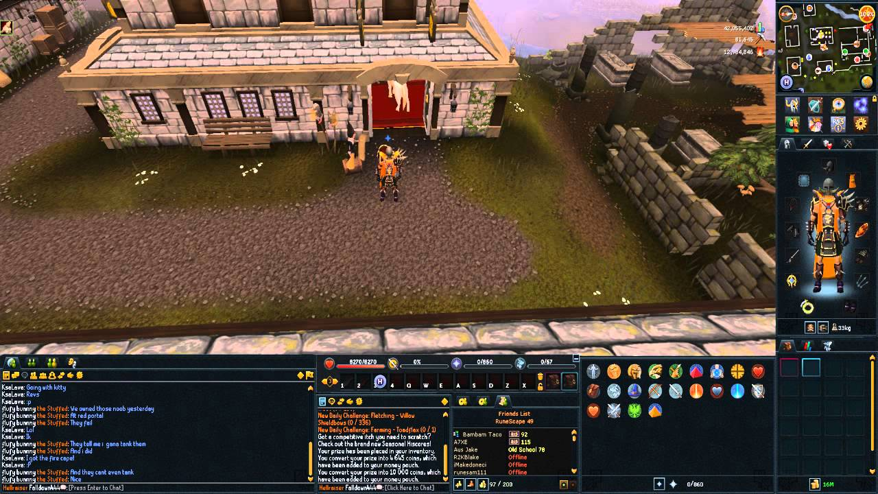 Runescape 3 l my rs 3 layout youtube The best layout
