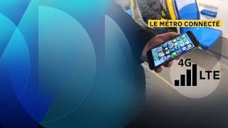 Accès au réseau mobile partout dans le métro