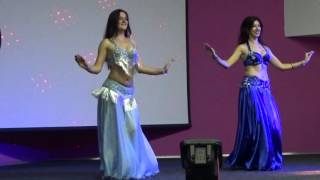 Восточный танец (bellydance) - дуэт