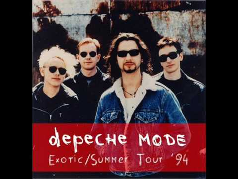depeche mode exotic tour summer tour 39 94 youtube. Black Bedroom Furniture Sets. Home Design Ideas