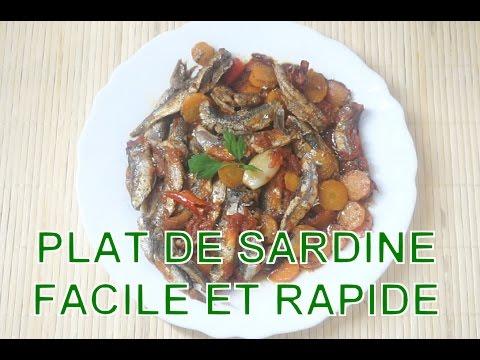 Plat de sardine facile et rapide youtube - Plat rapide et facile ...