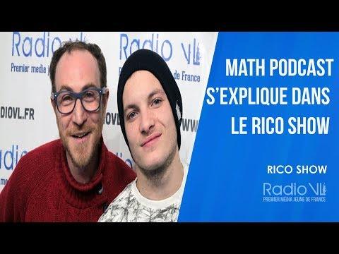 Math Podcast s'explique dans le #RicoShow
