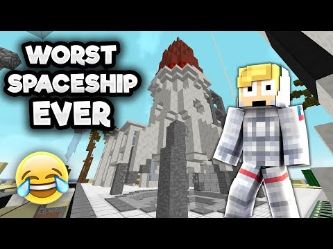 THE WORST SPACE SHIP IN THE HISTORY OF NASA.... (CRINGE)
