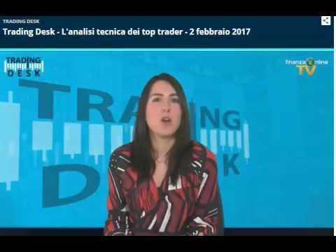 Pietro Di Lorenzo partecipa alla Trasmissione  Trading Desk del 02 Febbario