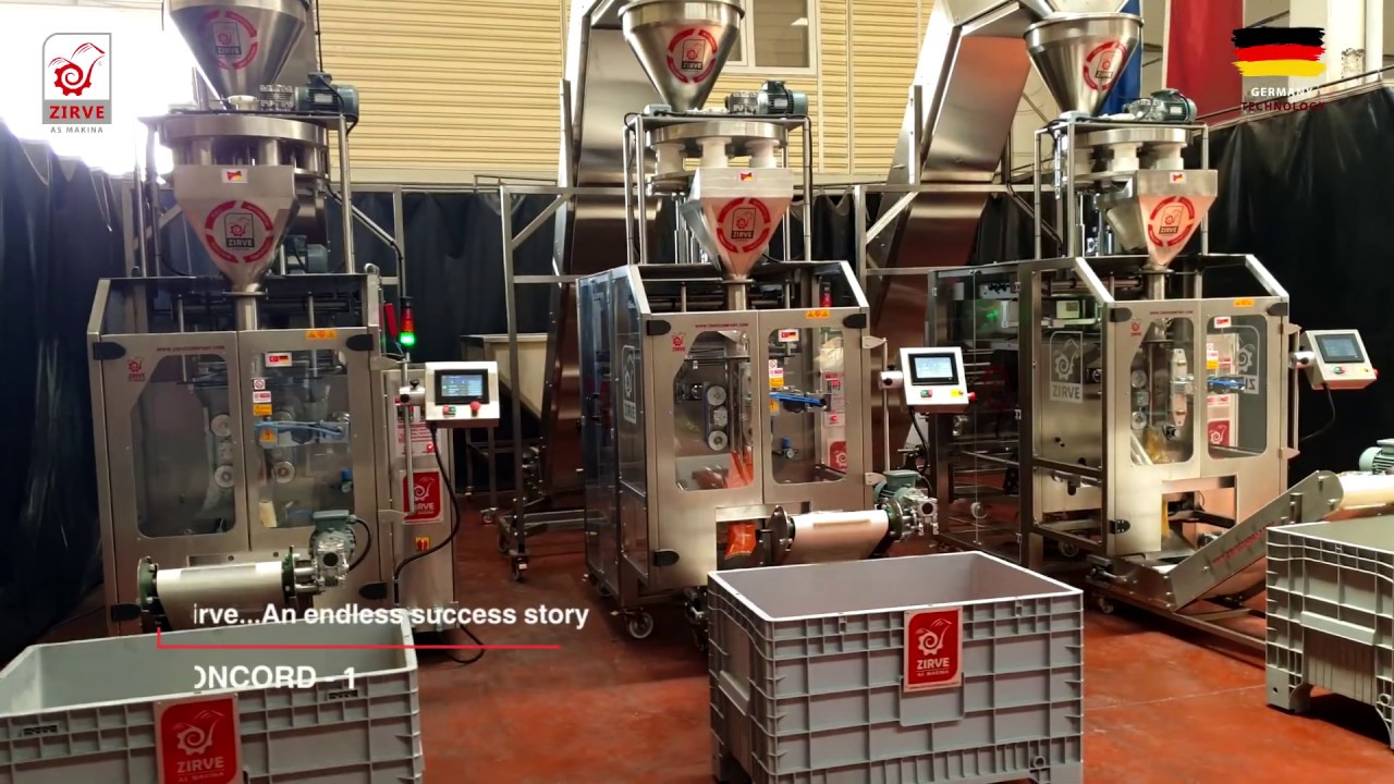 Download The latest and fastest packaging machine for cereals, sugar and rice model CONCORD1