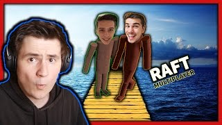 RAFT MULTIPLAYER!! w/ GoGo, MenT