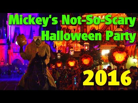 Mickey's Not-So-Scary Halloween Party 2016 Detailed Overview | Magic Kingdom