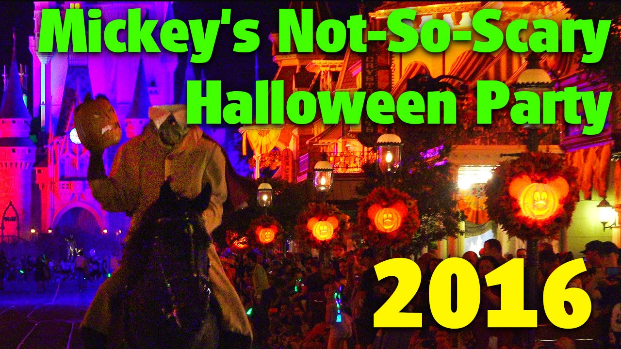 mickeys not so scary halloween party 2016 detailed overview magic kingdom youtube - Spooky Halloween Music Youtube