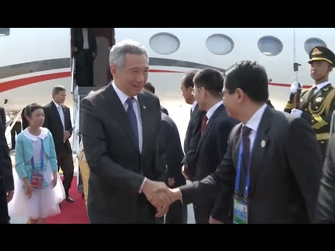 Singapore's Prime Minister Arrives in Hangzhou for G20 Summit